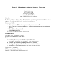 Administrative Objective For Resume Admin Objective For Resume Savebtsaco 15
