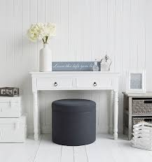 grey and white bedroom furniture. westhampton grey storage soft dressing table stool for and white bedroom furniture from the lighthouse l d