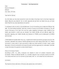 Employee Termination Letter Template Rubydesign Co