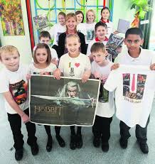 Hobbit gets pupils shirty | The Wiltshire Gazette and Herald