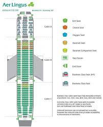 Aer Lingus Seat Map Map 2018
