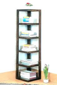 natural wood bookcase solid wood bookcase