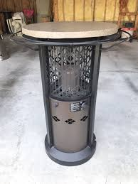 outdoor leisure propane bistro table patio heater excellent condition
