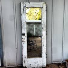 old door mirror full length mirror 499 00 via etsy i m stealing this idea and making this tomorrow off to habitat