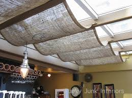 DIY Burlap Roman Shades  Checking In With ChelseaBurlap Window Blinds
