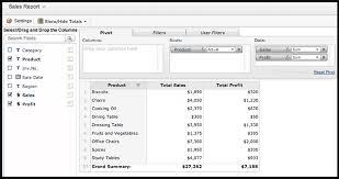 Pivot Table And Pivot Chart Help Zoho Creator