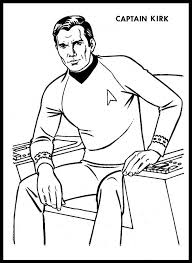 Small Picture Star Trek Coloring Pages Captain Kirk And Mr Spock On The Bridge