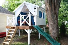 Treehouses for kids Luxury View In Gallery Backyard Awesome Treehouse Designs Treehouses Kids Surprise Gift Homestylediary Decoratorist Upscale Awesome Tree Houses For Kids That We Should All Have images