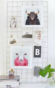 cute ways to display prints without framing