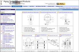 Hdpe Pipe Support Design Pipe Support Selection Chart Piping Technology Products