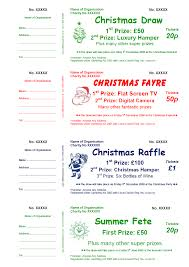 raffle tickets raffle ticket sample mailing samples