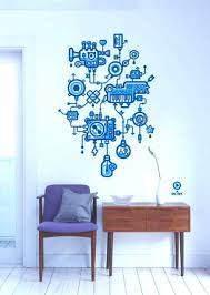cool wall stickers home office wall. Surprising Creative Office Branding Using Wall Cool Stickers Home E