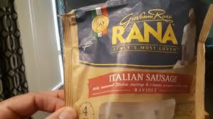 rana italian sausage ravioli review