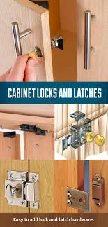 Cabinet Locks And Latches In 2019 Workshop And Garage Installing