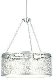 architecture amusing brushed nickel drum chandelier 26 pretentious biten me and inspirations of lights with three