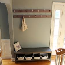 Entryway Wall Coat Rack A New Coat Rack and Bench for Our Foyer=Much Better 70