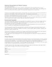 Photography Contracts Simple Wedding Photography Contract Template Free Contracts