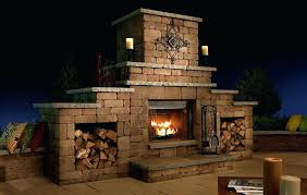 modular outdoor fireplace kit canada from the kits masonry stone s