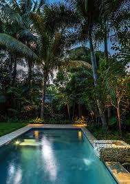tropical outdoor lighting. Landscape Lighting, Outdoor Living, Low Voltage Tropical Garden, Lighting Design, Pool, Pool Design A