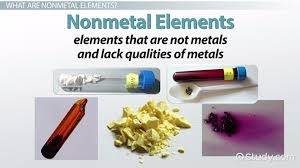Nonmetal Elements on the Periodic Table: Definition, Properties ...