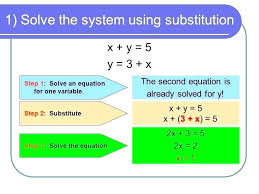 maths equations solving app solve 3 system of equations math 1 solve the system using substitution