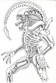 Pin Van Sanne Godeyne Op Unicorns Xenomorph Drawings En Coloring