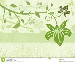 Free Floral Backgrounds Green Floral Background Stock Vector Illustration Of Illustration