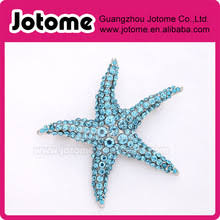 broaching hair. blue starfish brooch teal aqua wedding bridal bouquet sash hair comb brooches diy jewelry beach broaching g