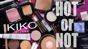 kiko milano cosmetics hot or not