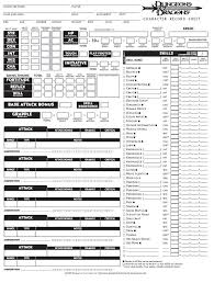 dnd 3 5 character sheet the character sheet