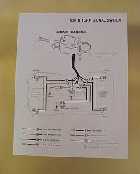 wiring diagram for universal turn signal the wiring diagram heavy duty universal turn signal directional switch kit 6v 3 pc wiring diagram