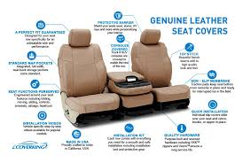 universalcoverking genuine leather custom seat covers