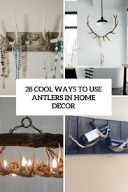 cool ideas to use antlers in home decor cover