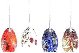 mini pendant lights art glass mini pendant lights art glass crystal pendant lighting over island art