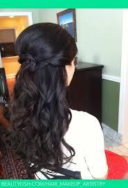 Hairstyles Long Hair 67 Best Halfdown Beachy Wavesby Calista Brides Hair Makeup Artistry