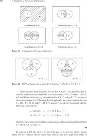 Venn Diagram Shading Examples 2 1 The Algebra Of Sets Pdf