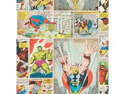 Disney Behangpapier Comic Multicolor
