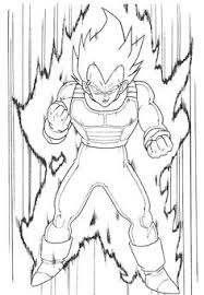 dragon ball z coloring pages
