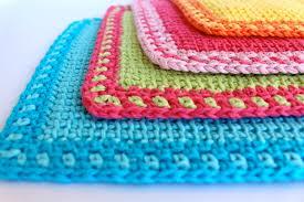 Tunisian Crochet Patterns Classy Tunisian Crochet Washcloth Poppyandbliss
