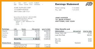 Check Stubs Template Free Impressive Free Pay Stub Template With Stubs Ms Excel Check Paycheck Word