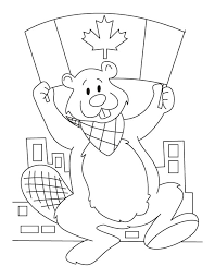 Small Picture Flag Day Coloring Pages GetColoringPages Canadian Symbols