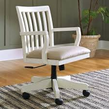 shabby chic desk chair white office the sarvanny home experience throughout cottage style idea 8