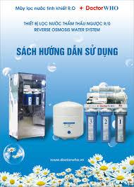Hướng dẫn sử dụng máy lọc nước R.O DoctorWHO