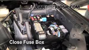 replace a fuse 2009 2013 toyota corolla 2010 toyota corolla s 6 replace cover secure the cover and test component