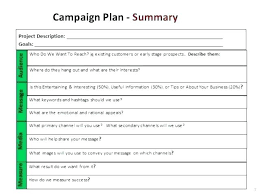 Digital Marketing Proposal Awesome Campaign Strategy Plan