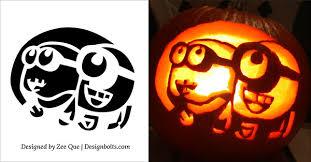 Free-Minion-Pumpkin-Carving-Stencils-patterns-ideas-2015-04 | Hey I Can  Make That Too | Pinterest | Stencil patterns, Pumpkin carvings and  Stenciling