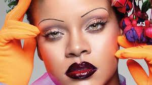 Will Rihanna's eyebrows become the Vogue? - BBC News