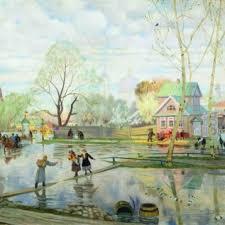 Весна на картинах русских художников