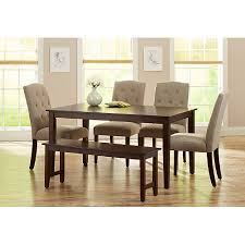 black round dining table walmart