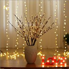 led willow branch l fl lights 20 bulbs home party garden decor birthday gift
